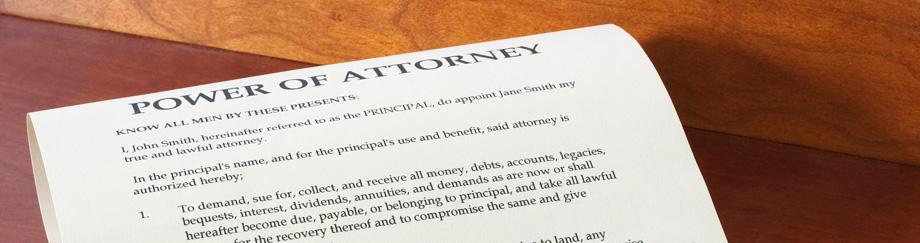 Burleigh Power of Attorney